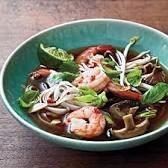 Spicy Shrimp Noodle Soup courtesy of Cooking Light/Jan 2013