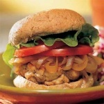 The original Quick and Easy Turkey Burger by Cooking Light Magazine 2000