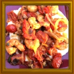 Spicy Shrimp and Grits....Frankie Style :-)