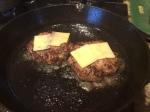Patties topped with Pecorino Cheese