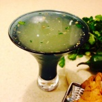 The Mean Green Margharita from the  Unconventional Farmhouse