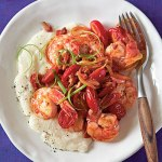 The original Spicy Shrimp and Grits for Cooking Light Magazine in 2010