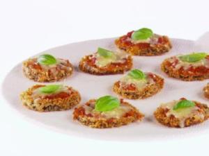 Giada's Mini Eggplant Parmesan