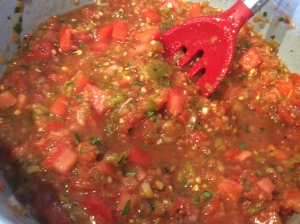 Chef Frankie's Tomato & Green Chili Salsa