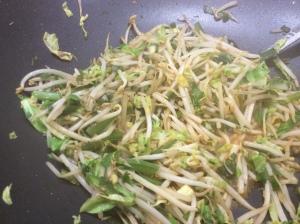 Veggies almost ready!