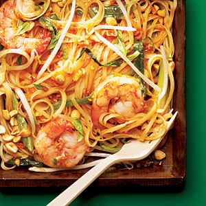 Shrimp Pad Thai from Cooking Light Magazine/2011