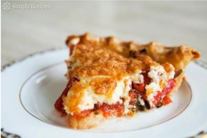 Tomato Pie from Simply Recipes ...the recipe that started it all :-)