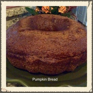 Fall Pumpkin Bread
