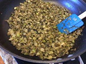 Vegetable Mixture...perfectly sautéed and fragrant