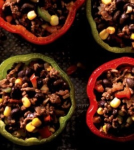 Clean Eating Magazine's Mexican Stuffed Bell Peppers